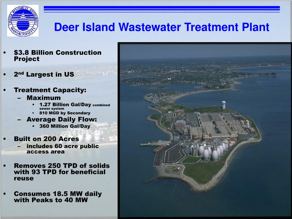 Deer Island Wastewater Treatment Plant