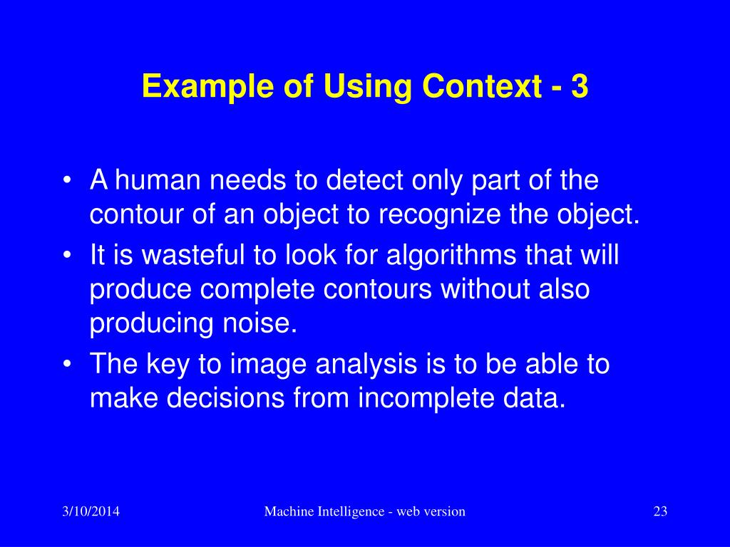 Example of Using Context - 3