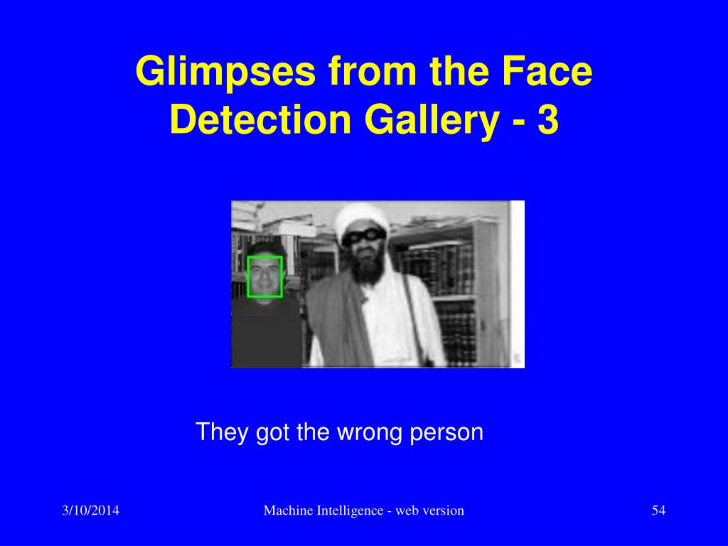 Glimpses from the Face Detection Gallery - 3