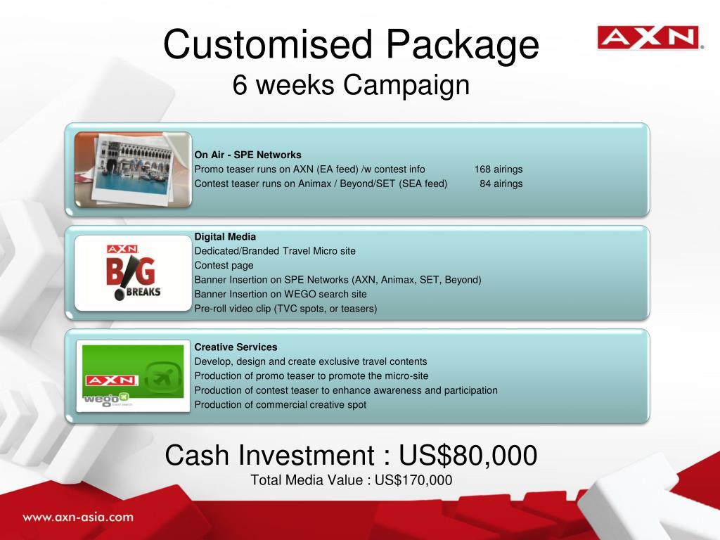 Customised Package