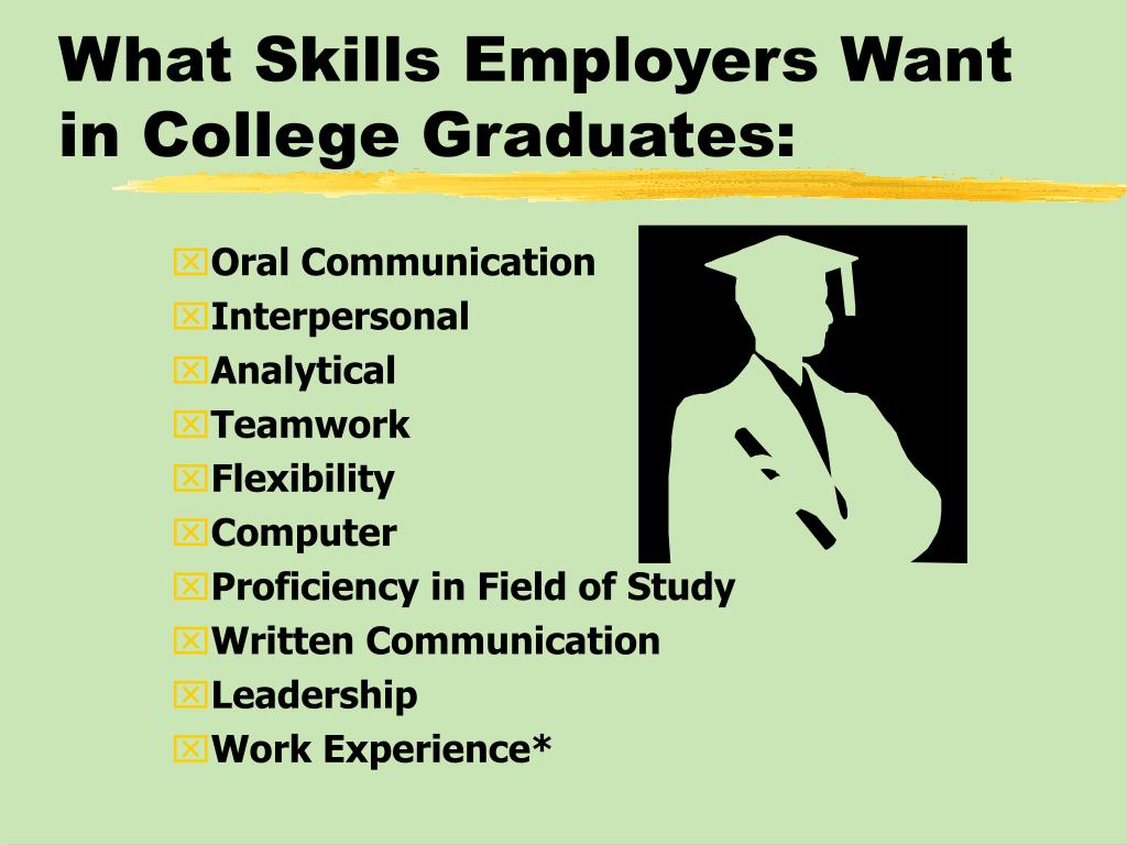 What Skills Employers Want in College Graduates: