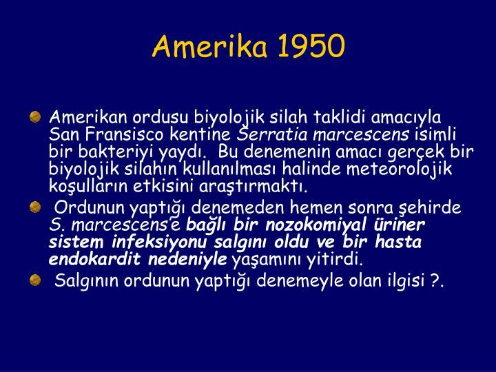Amerika 1950