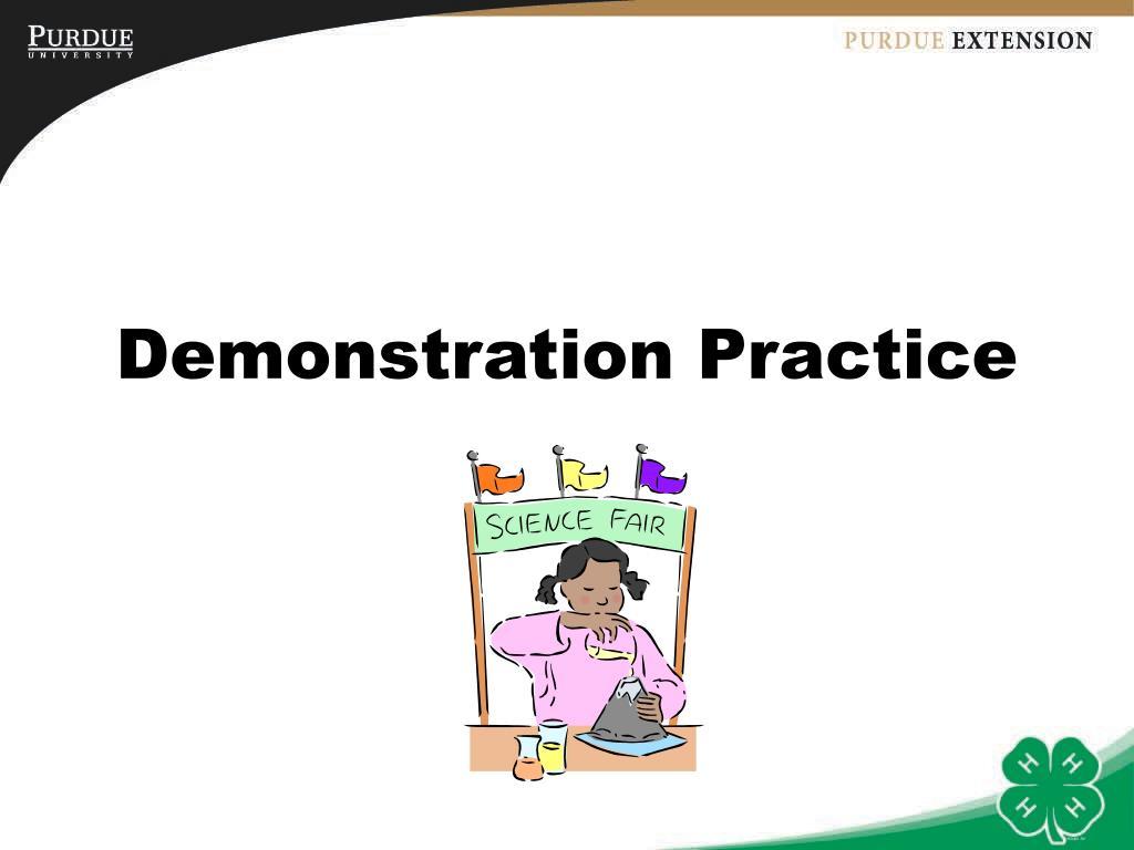 Demonstration Practice