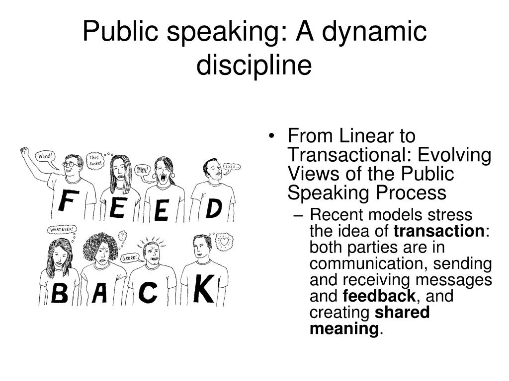 Public speaking: A dynamic discipline