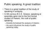 public speaking a great tradition14