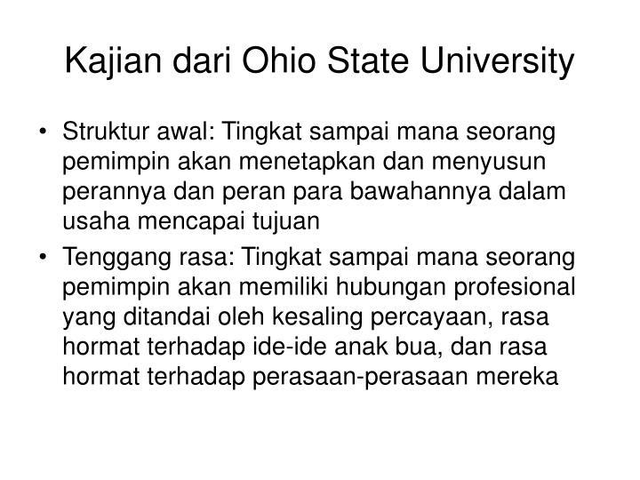 Kajian dari Ohio State University