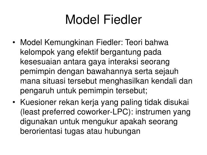 Model Fiedler
