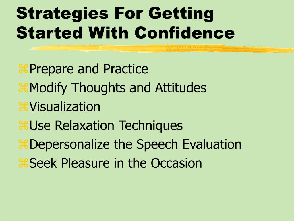 Strategies For Getting Started With