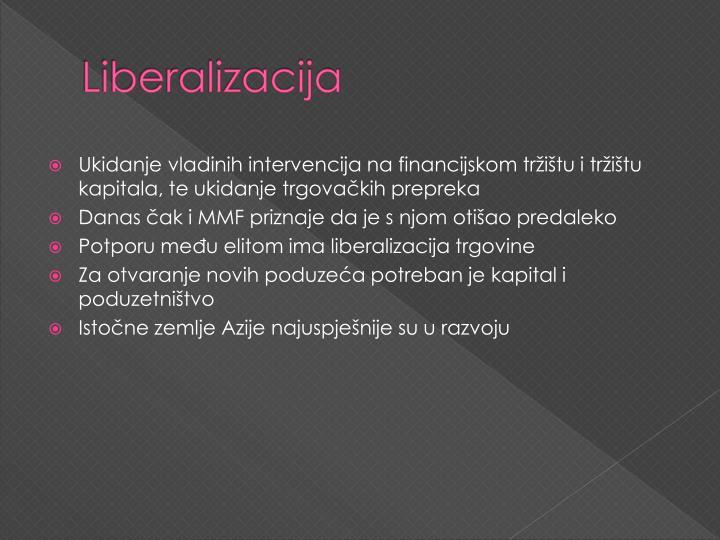 Liberalizacija