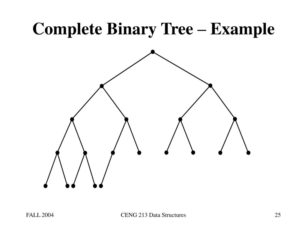 Complete Binary Tree – Example