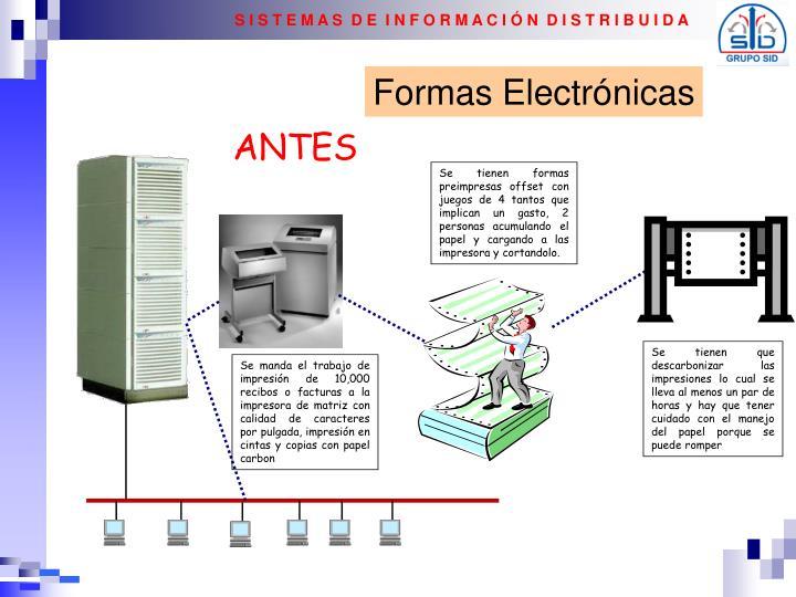 Formas Electrónicas