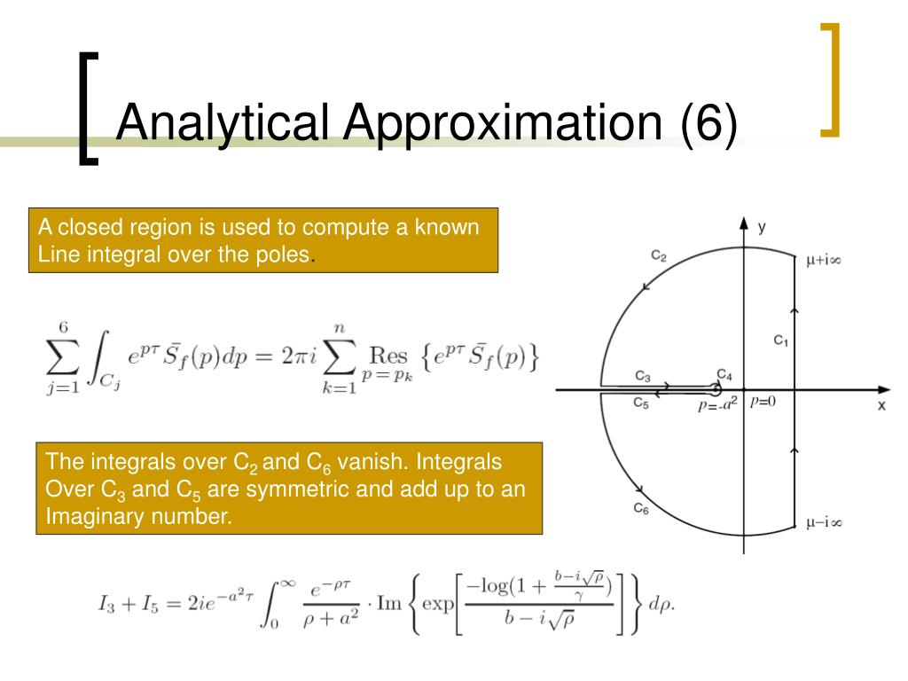 Analytical Approximation (6)