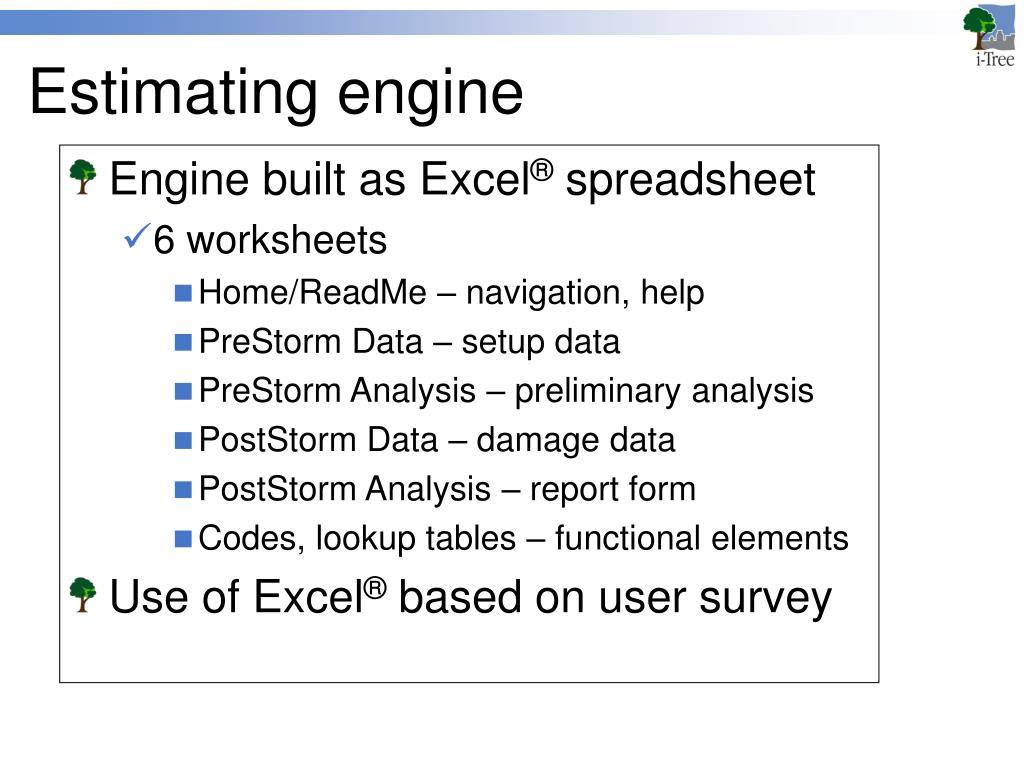 Estimating engine