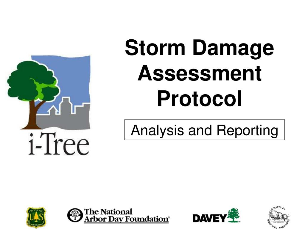 Storm Damage Assessment Protocol