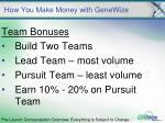 how you make money with genewize11