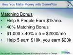 how you make money with genewize19