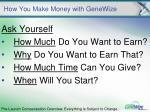 how you make money with genewize20