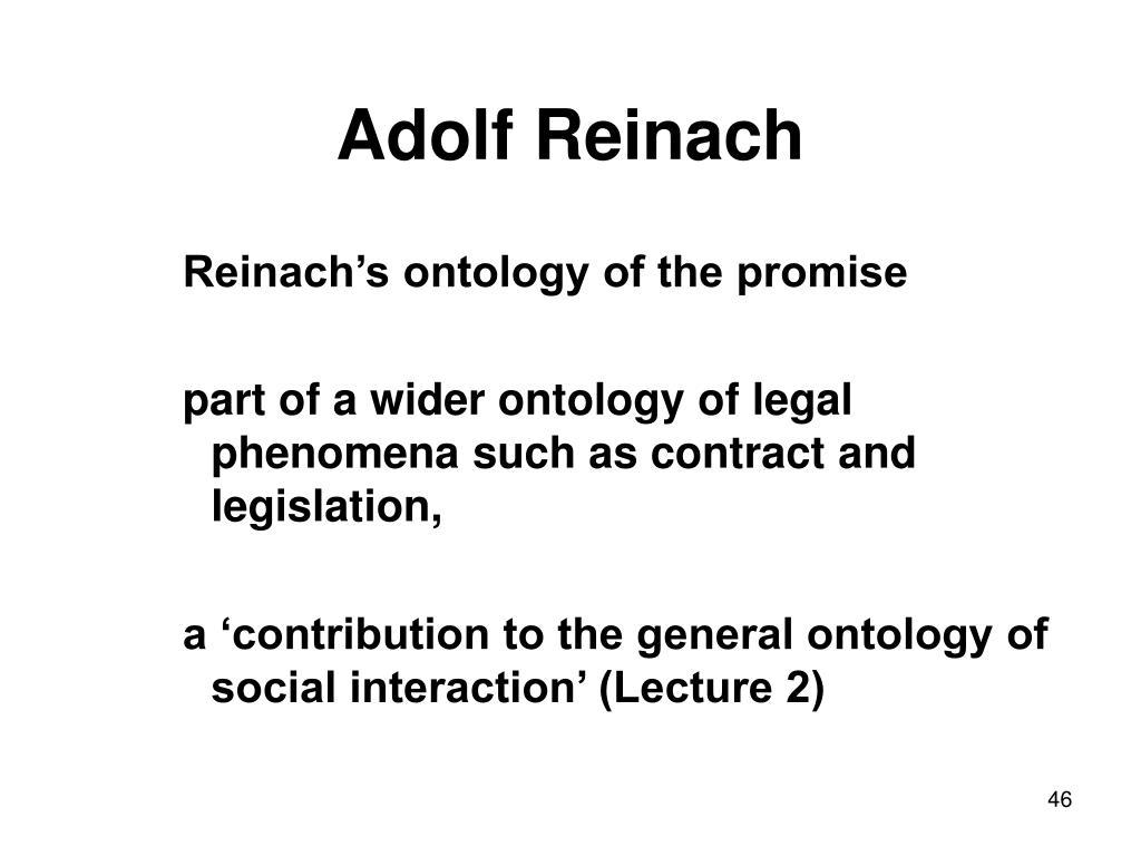 Adolf Reinach