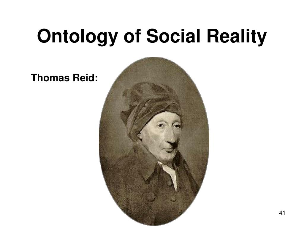 Ontology of Social Reality