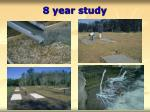 8 year study