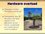hardware overload