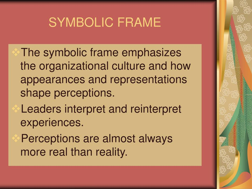 SYMBOLIC FRAME