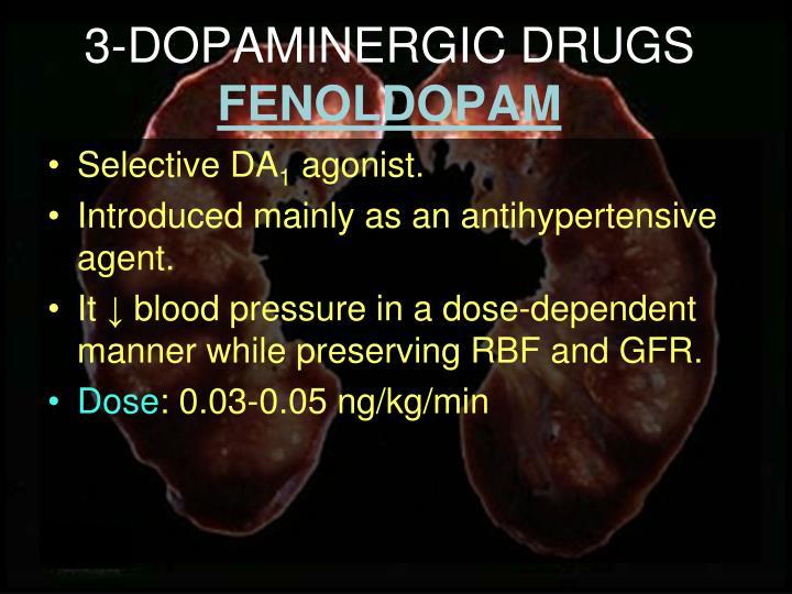3-DOPAMINERGIC DRUGS