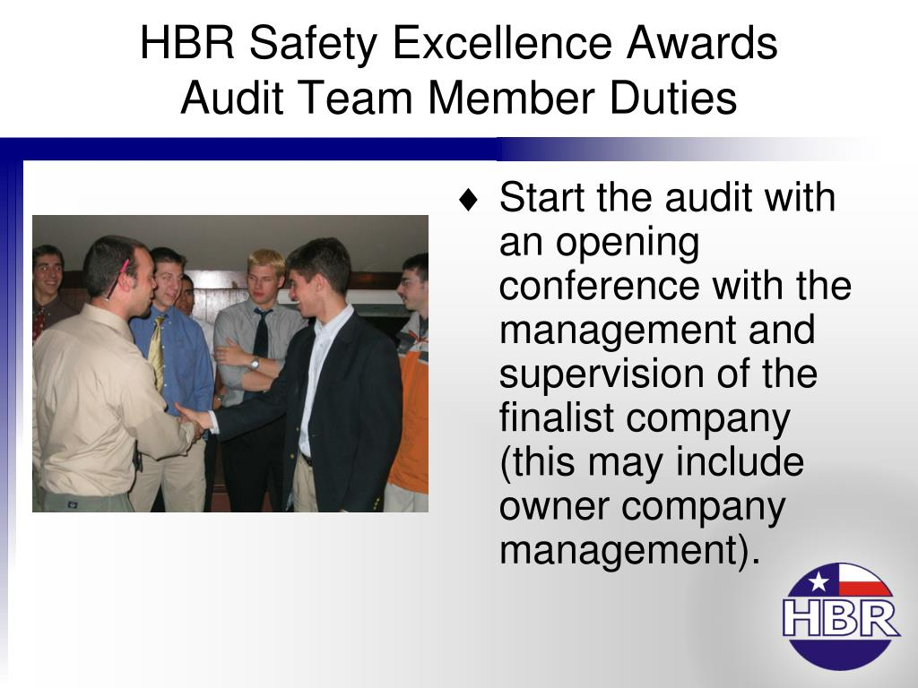 HBR Safety Excellence Awards