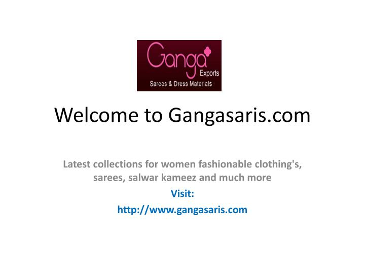 Welcome to gangasaris com l.jpg