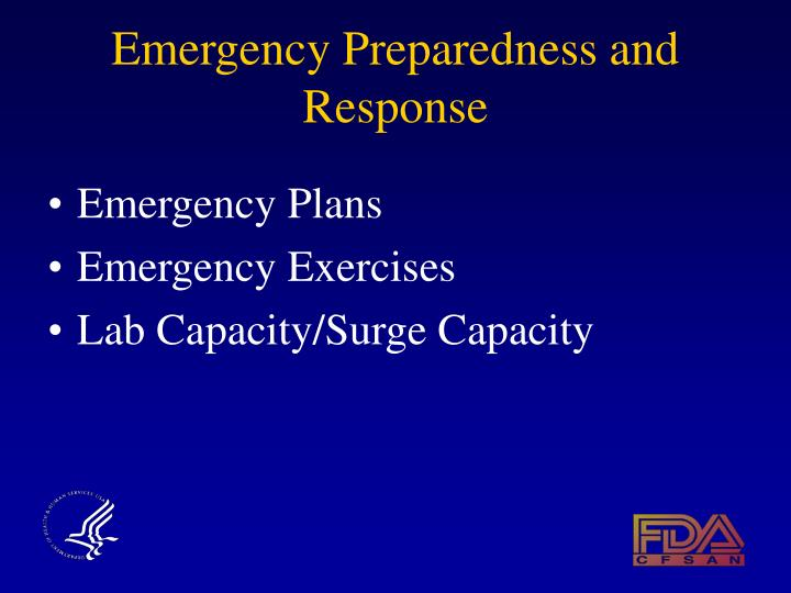 emergency preparedness and response Emergency alerts preparedness portal preparedness messaging calendar follow ready on social media to get the latest updates and tips.