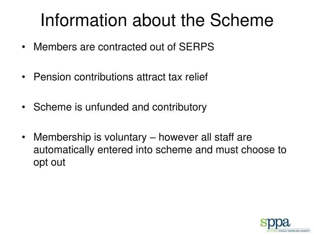 Information about the Scheme