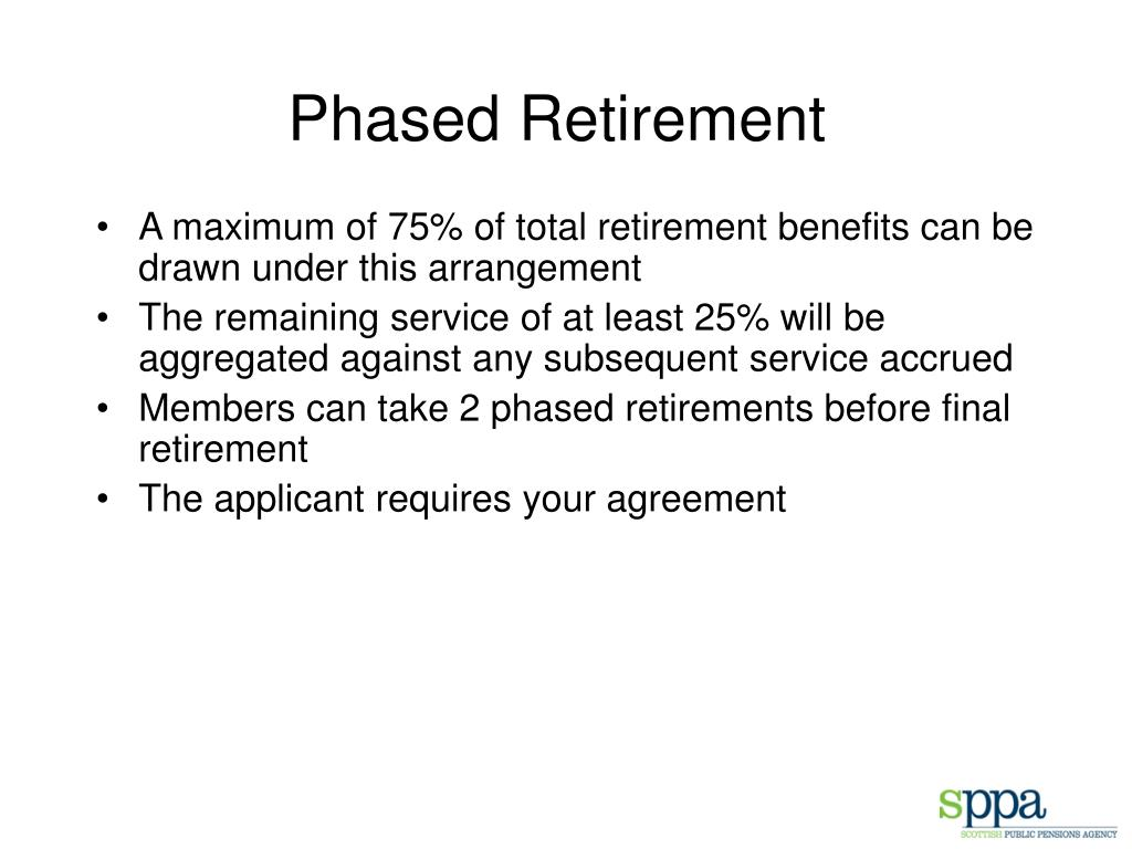 Phased Retirement