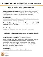 nhs institute for innovation improvement