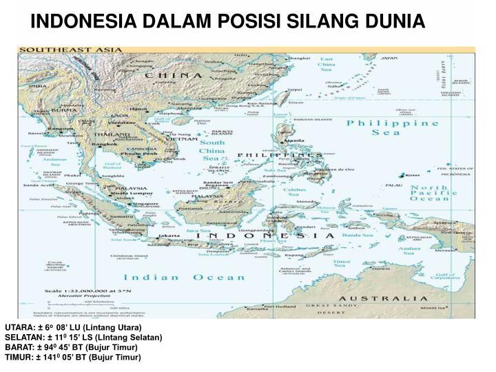 INDONESIA DALAM POSISI SILANG DUNIA