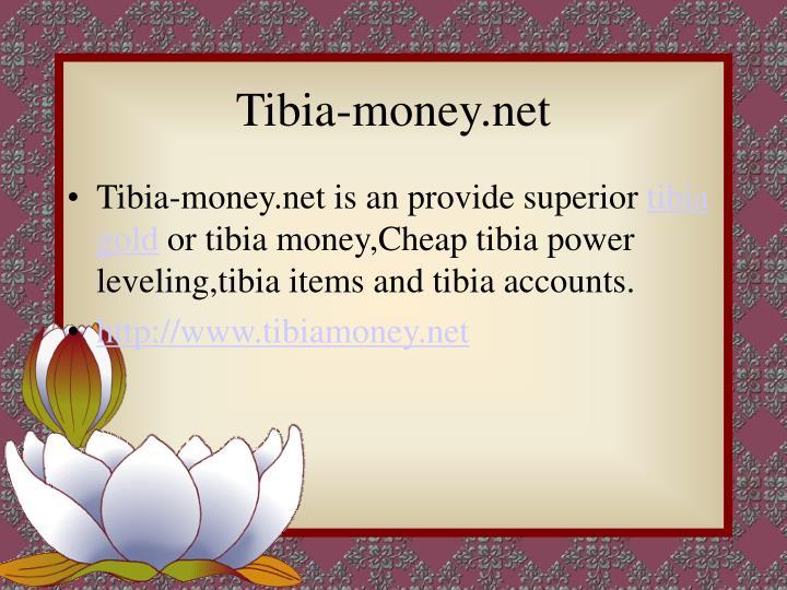 Tibia-money.net
