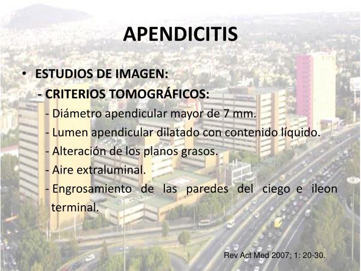 APENDICITIS
