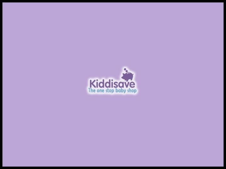 Kiddisave your one stop shop for all your nursery needs