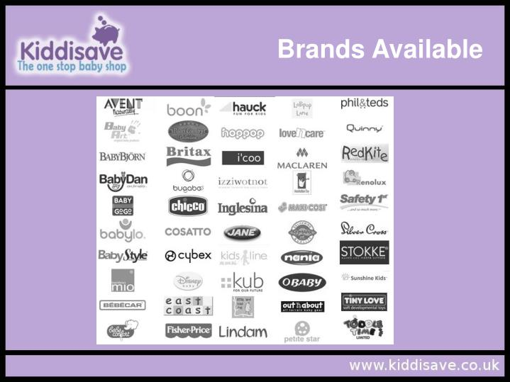 Brands Available