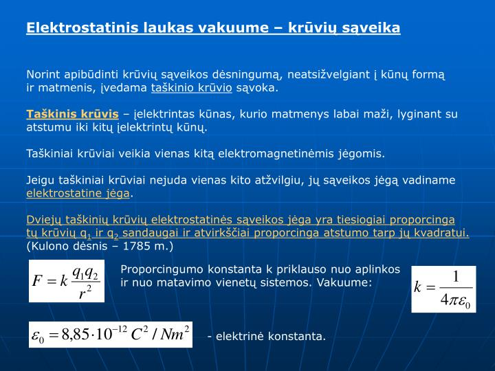 Elektrostatinis