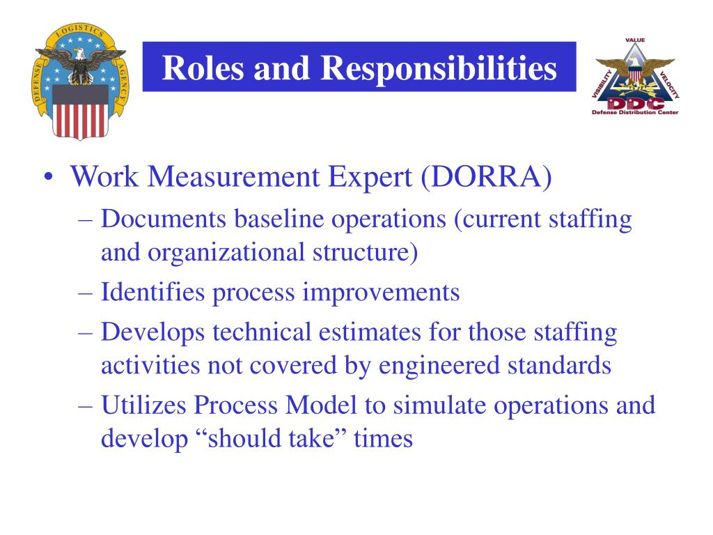 Work Measurement Expert (DORRA)