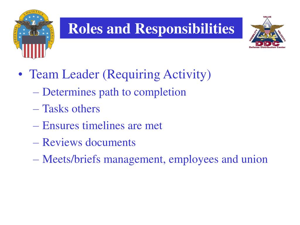 Team Leader (Requiring Activity)