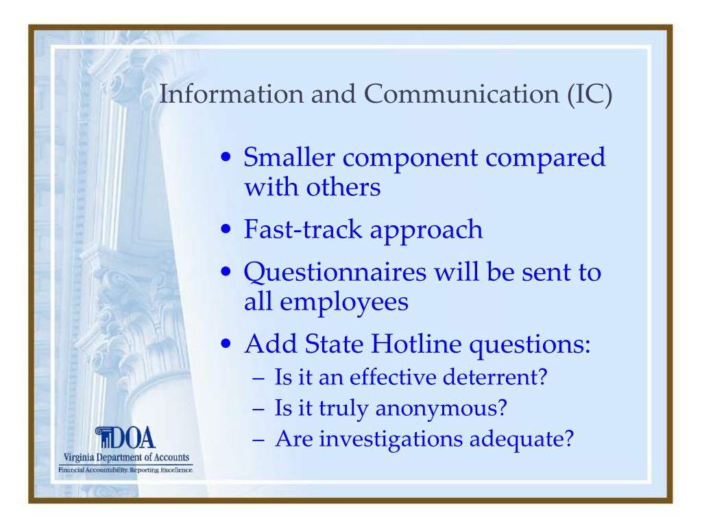Information and Communication (IC)