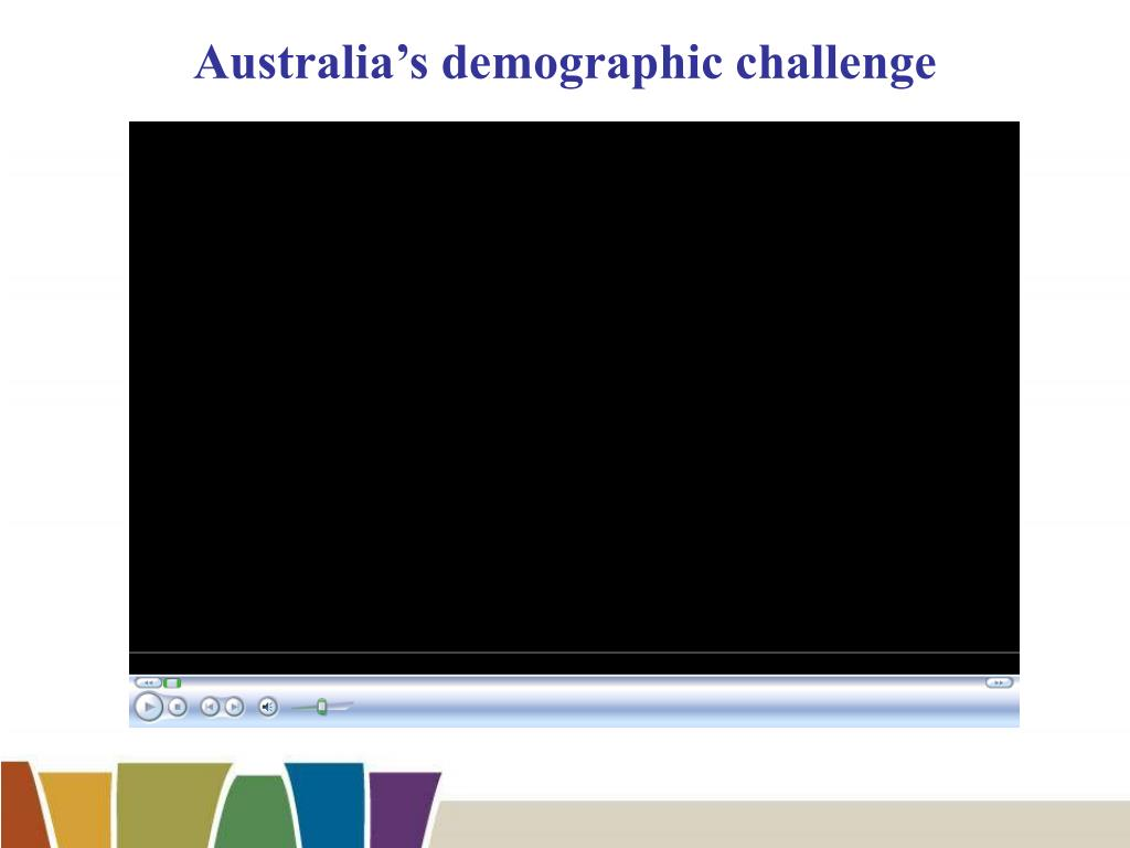 Australia's demographic challenge