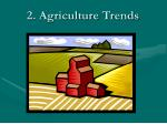 2 agriculture trends