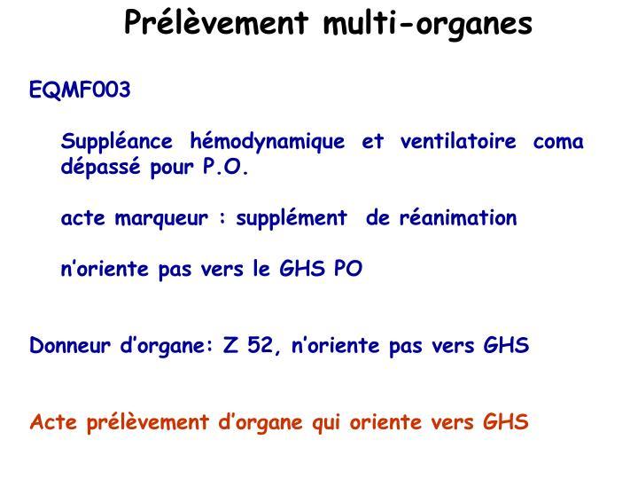 Prélèvement multi-organes