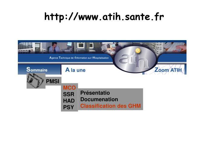 http://www.atih.sante.fr