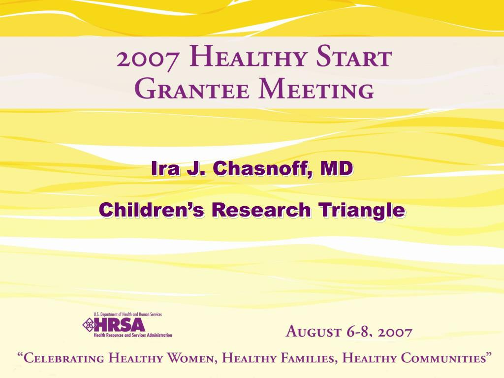 Ira J. Chasnoff, MD