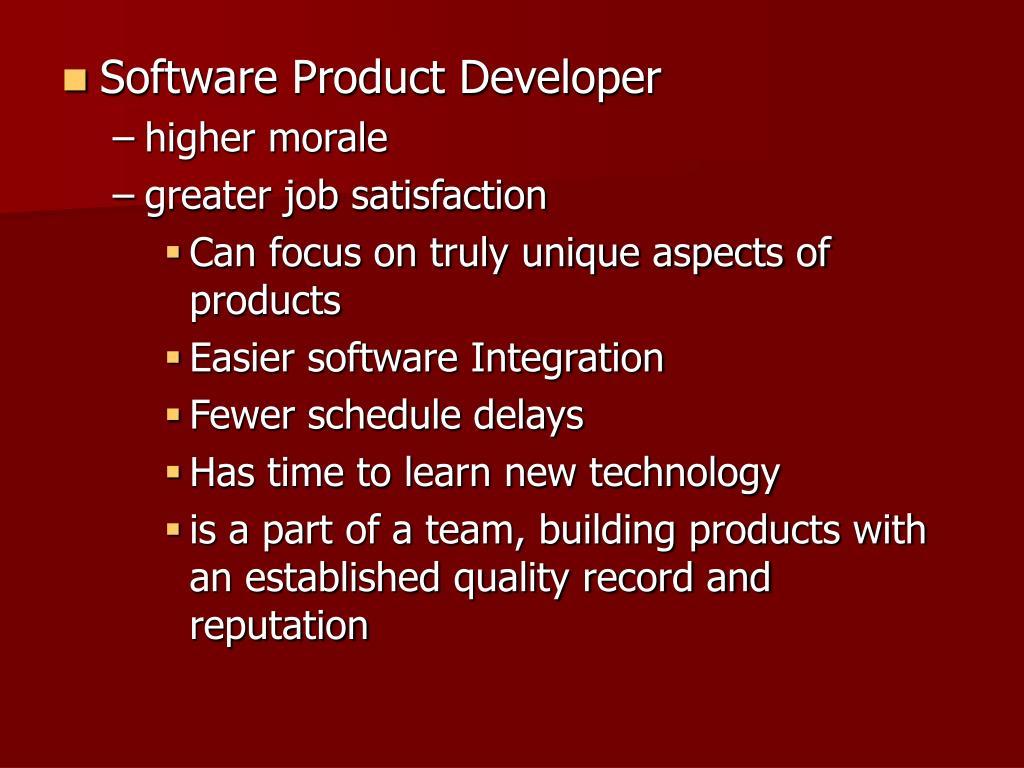 Software Product Developer