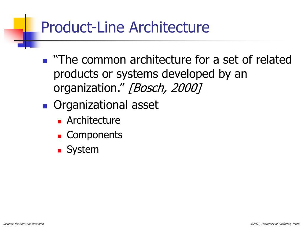 Product-Line Architecture