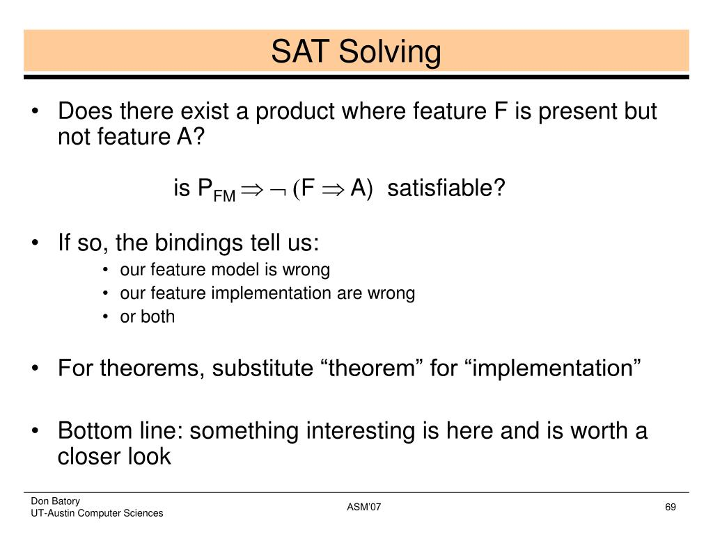 SAT Solving
